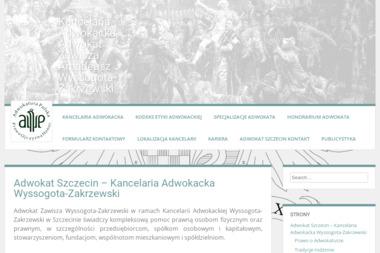 """""""Kancelaria Adwokacka Wyssogota-Zakrzewski"""" - Rozwód Szczecin"""