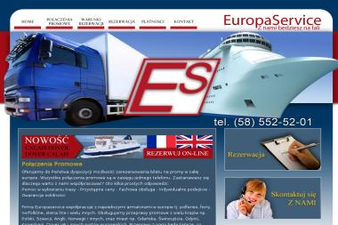 EUROPASERVICE Sp. z o.o. Sp. k. - Transport Zagraniczny Gdańsk
