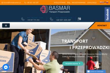 Basmar - Przeprowadzki międzynarodowe Pruszcz Gdański