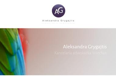 Kancelaria adwokacka Aleksandra Grygajtis - Obsługa prawna firm Wrocław