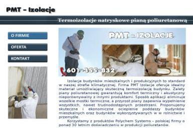 PMT Izolacje - Ocieplanie Pianką PUR Biała Podlaska