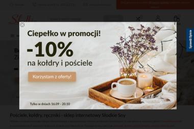 E-Tekstylia - Wyposażenie sypialni Kraków
