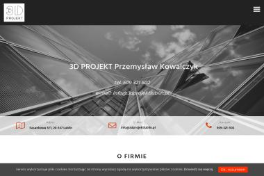 3D PROJEKT PRZEMYSŁAW KOWALCZYK - Projekty domów Lublin