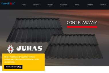 DOM BLACH - Pokrycia dachowe Świątniki Górne