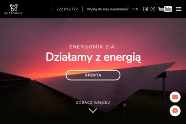 ENERGOMIX - Zaopatrzenie w energię elektryczną Warszawa