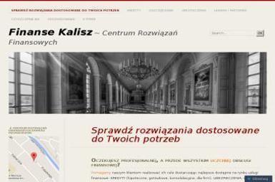 Centrum Rozwiązań Finansowych Dariusz Pęchorzewski - Kredyt hipoteczny Kalisz