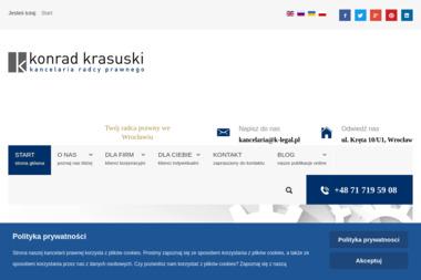 Kancelaria Radcy Prawnego Konrad Krasuski - Radca Prawny Wrocław