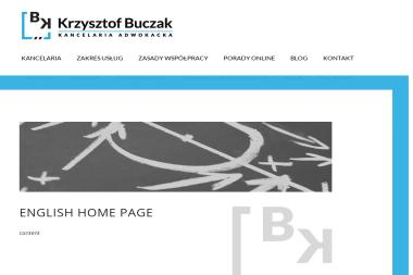 Kancelaria Adwokacka Krzysztof Buczak - Wykup Długów Kraków