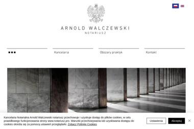 Arnold Walczewski notariusz | notariusz w Krakowie - Notariusz Kraków