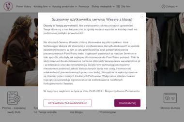 Wesele z klasą - Portale internetowe Katowice