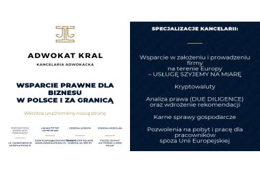 Adwokat Kral - Pomoc Prawna Tychy
