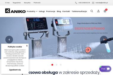 Aniko Wagi, aparatura pomiarowa, automatyka przemysłowa - Urządzenia elektroniczne Warszawa