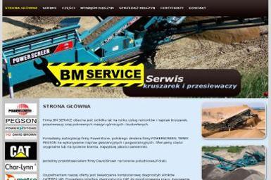 BM Service - Maszyny budowlane różne Skawina
