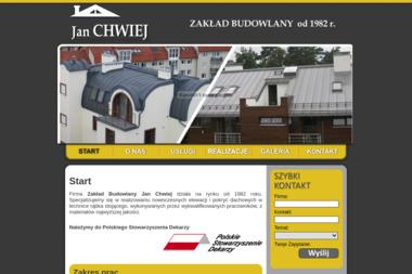 Zakład Budowlany Jan Chwiej - Pokrycia dachowe Gdańsk
