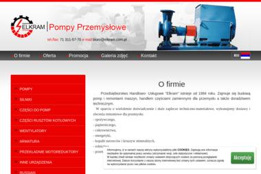 Elkram Pompy Przemysłowe - Dla przemysłu maszynowego Siechnice