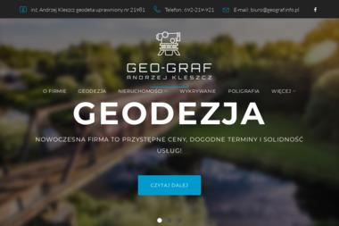 Geo-graf - Geodeta Skoczów