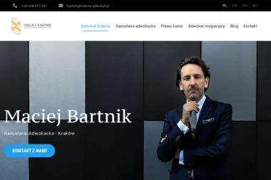 Kancelaria Adwokacka Maciej Bartnik - Prawo Karne Kraków