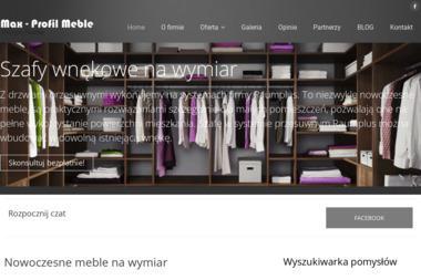 Max-profil meble - Szafy Przesuwne Warszawa
