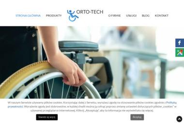Orto-Tech - Sprzęt rehabilitacyjny Warszawa