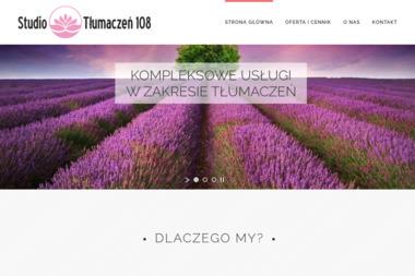 Studio Tłumaczeń 108 - Tłumaczenia przysięgłe Gdańsk