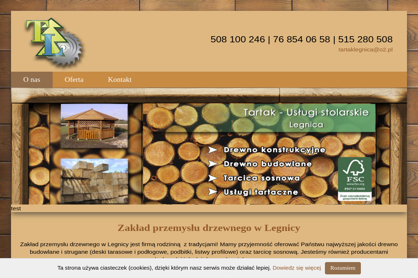 TARTAK LEGNICA - Drewno Kominkowe Legnica