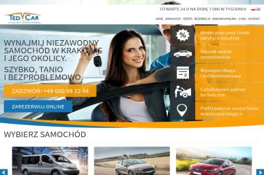 TEDCAR Wypożyczalnia samochodów - Wypożyczalnia Aut Kraków