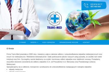 Trans-Med s.c. - Przetwarzanie odpadów Warszawa