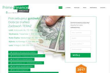 PRIME FINANCE - Pożyczki bez BIK Mysłowice
