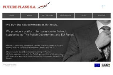 FUTURE PLANS - Dostawcy artykułów spożywczych Lublin