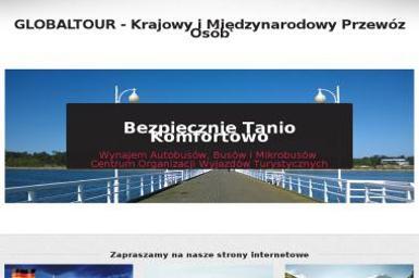 GLOBALTOUR Spółka z o.o. - Krajowy i Międzynarodowy Przewóz Osób i Towarów - Firma transportowa Tarnów