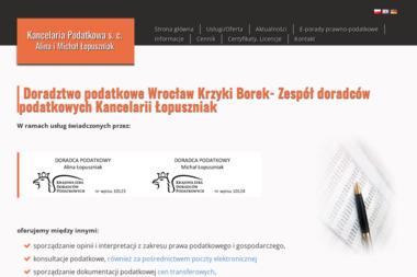 Kancelaria Podatkowa s.c. ALina i Michał Łopuszniak - Obsługa prawna firm Wrocław