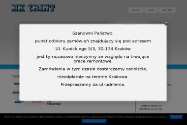 MK PRINT - Serwis sprzętu biurowego Kraków