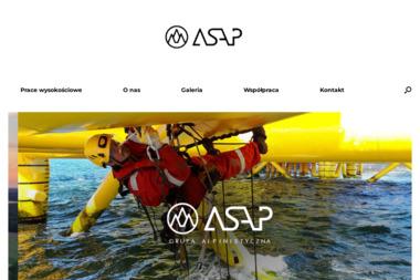 Grupa Alpinistyczna ASAP - Alpinista Przemys艂owy 艁ód藕