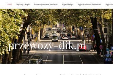 Przewozy DiK - Usługi Przeprowadzkowe Majdan Królewski