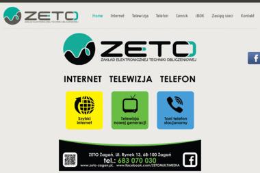 Zaklad Elektronicznej Techniki Obliczeniowej - Internet Żagań