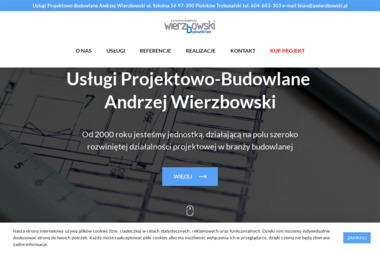 Wierzbowski Andrzej Usługi projektowo - budowlane - Biuro Architektoniczne Piotrków Trybunalski