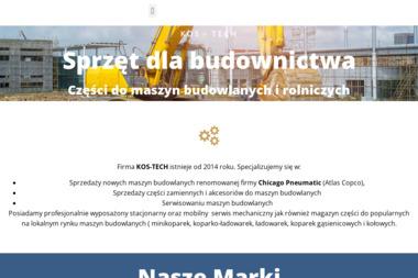 KOS-TECH - Wynajem Minikoparki Warszawa