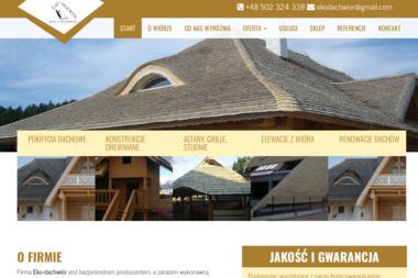 Eko-Dachwiór - Krycie dachów Bakałarzewo