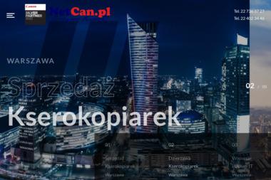 NetCan.pl - Serwis sprzętu biurowego Warszawa