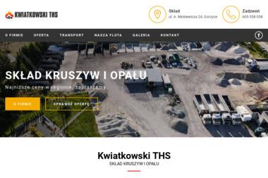 KWIATKOWSKI THS Marcin Kwiatkowski - Ekogroszek Gorzyce