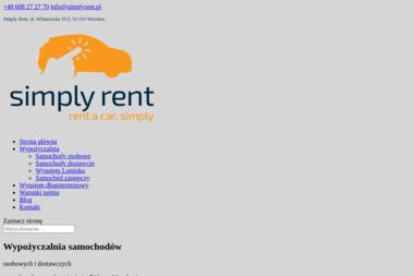 Simply Rent - Transport samochodów Wrocław