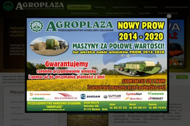 AGROPLAŻA Zbigniew Załęski - Maszyny rolnicze Gąsewo Poduchowne