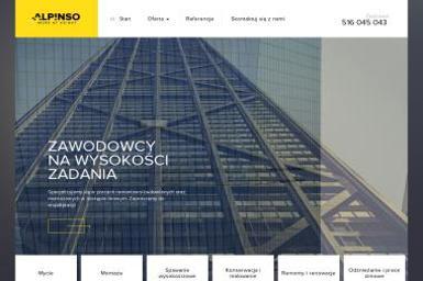 Alpinso Work at Height Paweł Sobota - Kominki z Kamienia Rzeszów