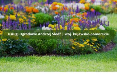 USŁUGI OGRODOWE Andrzej Śledź - W ogrodzie, przed domem Bydgoszcz