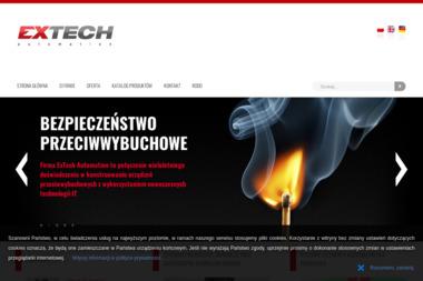 EXTECH Automation Sp. z o. o. - Strona Internetowa Ruda Śląska