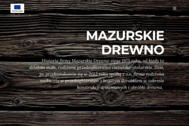 Mazurskie Drewno Sp. z o.o. - Skład drewna Gołdap