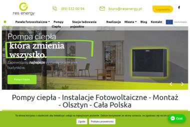 RES ENERGY SP. ZO.O - Solary do Ogrzewania Wody Olsztyn
