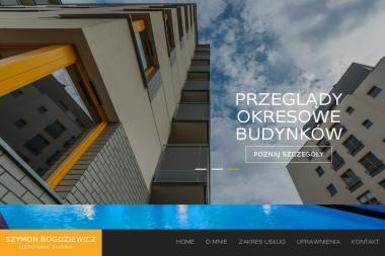 Szymon Bogdziewicz - Kierownik Budowy - Kierownik budowy Opole