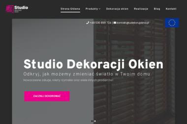 Studio dekoracji i osło okiennych - Projektowanie Wnętrz Katowice