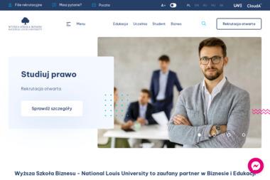 Wyższa Szkoła Biznesu - National Louis University - Uczelnie wyższe Nowy Sącz